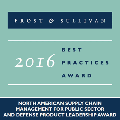 Frost & Sullivan Best Practices Award 2016