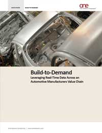 A Demand-Driven Supply Chain for Automotive and Manufacturing
