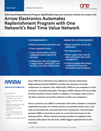 Arrow Electronics Supply Chain Case Study