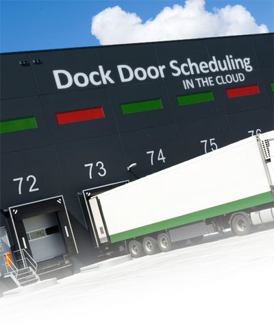 Photo of Dock Doors for Dock Door Scheduling Solution