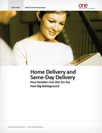 Same-Day Delivery and Home Delivery Solutions for Retailers