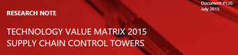 Supply Chain Control Towers Reviews - One Network a Leader in Control Tower Technology