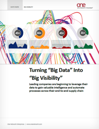 Turning Big Data in Your Supply Chain Into Big Visibility