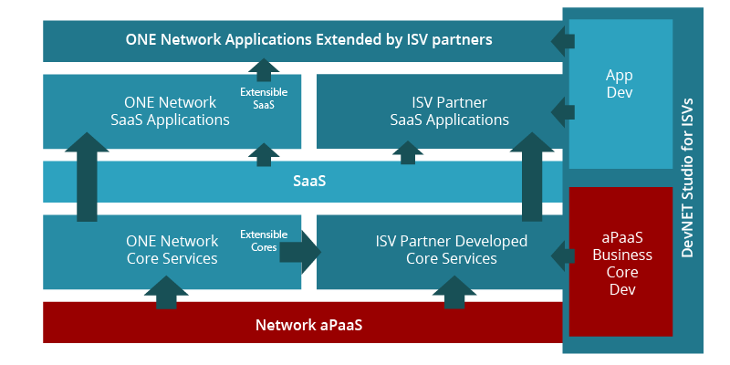 aPaaS and Extendable SaaS