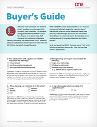 Buyer's Guide to One Network