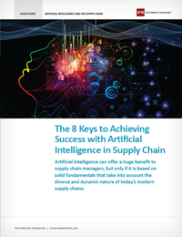 8 Keys to Success with Artificial Intelligence in the Supply Chain