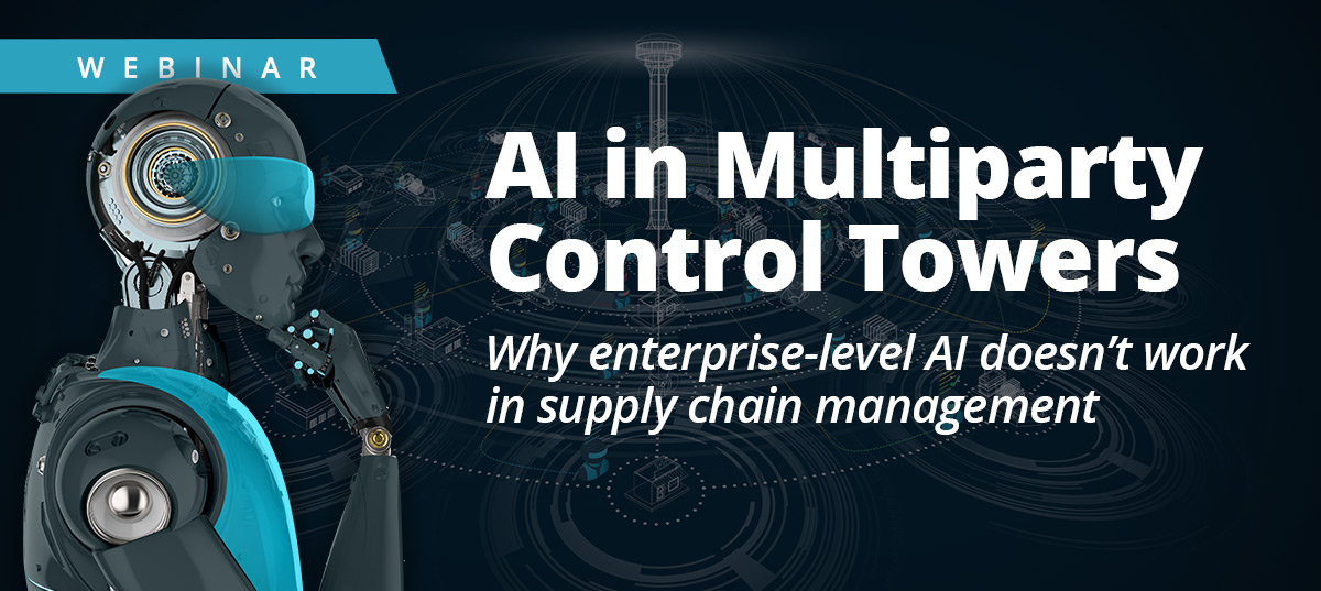 AI and Machine Learning in Multiparty Control Towers and Supply Chain Management