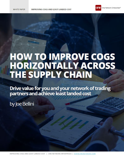 Use Your Supply Chain to Improve Your Financial Performance and Lower COGS