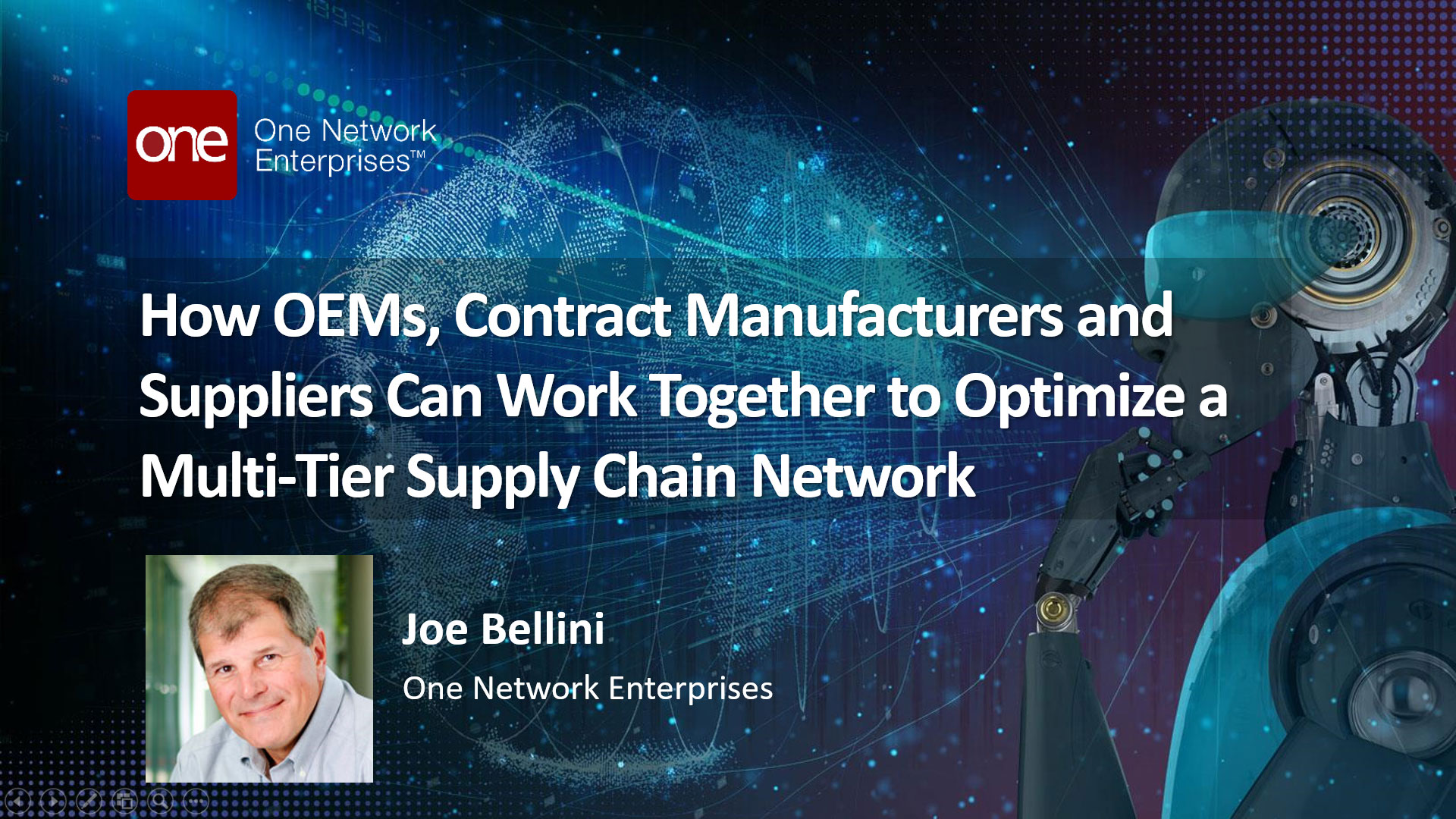 Download the Presentation: Optimizing Multi-Tier Supply Chain Networks