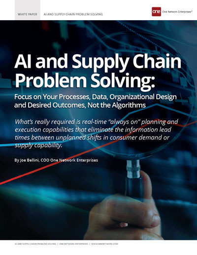 Using AI for Effectie Supply Chain Problem Solving